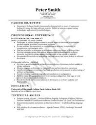 Resume For Test Lead Qa Software Tester Resume Sample Entry Level Creative Resume