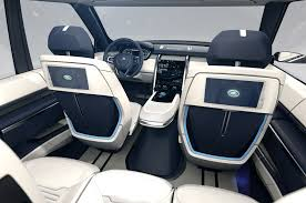 land rover inside view land rover discovery vision concept first look