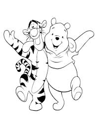 winnie pooh pictures kids coloring