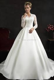modest wedding dress discount sleeve modest wedding dresses 2017 amelia sposa