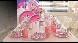 princess party themes decorations at home ideas youtube