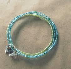 bangle bracelet diy images Wobisobi seed bead bangle bracelet diy jpg