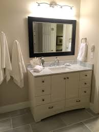 home depot design your own bathroom vanity a rich mocha vanity brings natural warmth to your bathroom