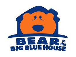 free coloring book bear blue house exterior desktop