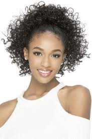 afro puff pocket bun hairstyles draw string 2 vivica fox hair collection