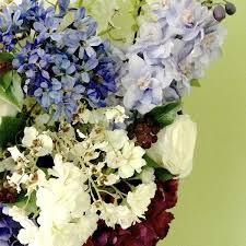 Artificial Flowers Cheap Luxury Artificial Blue Purple Agapanthus
