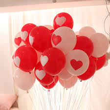 valentines baloons 100pcs wedding balloons heart balloon
