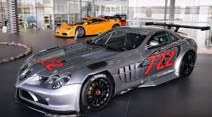 mercedes supercar 2016 mercedes mclaren slr 722 gt trophy 12 tillverkade bilar