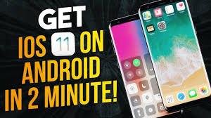 make android look like iphone how to make android look like ios 11 no root free 2017