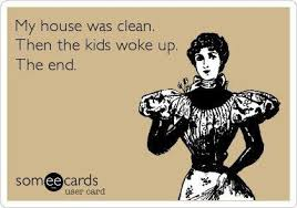Clean House Meme - quotes my house was clean