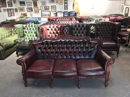 Chesterfield Sofas Uk by Stunning Oxblood French Style Chesterfield Louis Style Sofa Uk