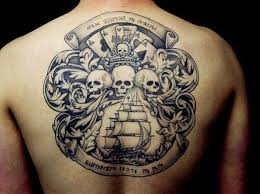 9 amazing pirate tattoo designs pirate tattoo pirate themed