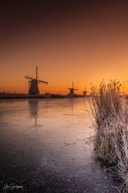 kinderdijk sunset wallpapers just relax with landscapes you can also relax with sounds here
