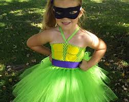 Teenage Mutant Ninja Turtles Halloween Costumes Girls Ninja Turtle Tutu Etsy