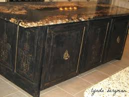 distressed black kitchen island home styles distressed oak kitchen island with stools islands