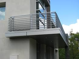contemporary design aluminum flat bar railing weld tech fabricating
