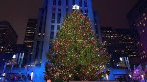 Rockefeller Tree Icymi Rockefeller Center Tree Illuminated Nbc News