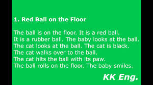 1 red ball on the floor 1 100 youtube