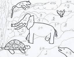 Grade 7 Math Worksheets Free Free Kids Math Coloring Pages 7 Activities Math Coloring Pages 7