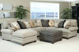 Chaise Queen Sleeper Sectional Sofa 3 Pc Microfiber Sectional Sofa With Recliner And Queen Sleeper