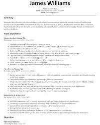 On The Job Training Resume by Electrician Resume Sample Resumelift Com