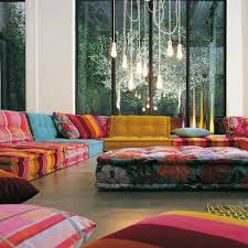 sofa patchwork perk up the living room with 15 colorful sofa ideas rilane