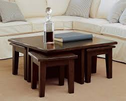 round coffee table with 4 stools furniture beauty living room table with stools living room table