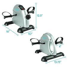under desk exercise peddler pedal exerciser by vive portable medical exercise peddler low