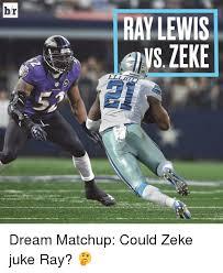 Ray Lewis Meme - hr traveny ray lewis vs zeke cowboys dream matchup could zeke juke