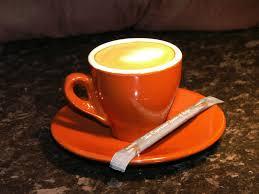 espresso macchiato perfect coffee at work