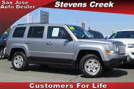 jeep patriot 2017 silver jeep patriot for sale cars and vehicles mountain view