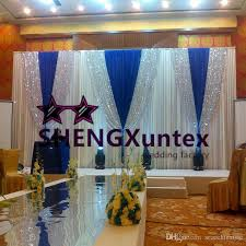 wedding backdrop prices 2018 wholesale price white color wedding backdrop curtain stage