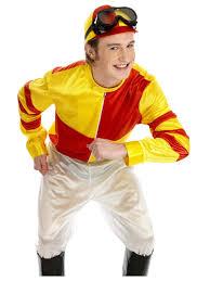 horse jockey halloween costume red u0026 yellow jockey costume fs2387 fancy dress ball