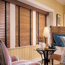 Wood Grain Blinds Levolor Window Treatments The Home Depot