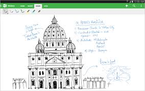 onenote for android now with handwriting support full tablet