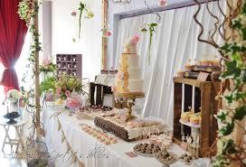 buffet mariage buffet de mariage rétro chic