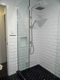 bathroom tile tile ideas white wall tiles black and white