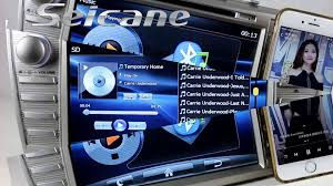 gps toyota camry 2008 2009 2011 toyota camry in dash radio dvd gps with hd touch