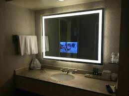 tv in the mirror bathroom tv mirrors for bathroom akapello com