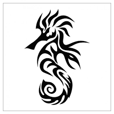 celtic seahorse tattoos design in 2017 real photo pictures
