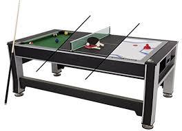 Sportscraft Pool Table Amazon Com Triumph 3 In 1 Swivel Multigame Table Sports U0026 Outdoors