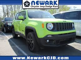 new jeep renegade green new 2018 jeep renegade in delaware newark chrysler jeep dodge