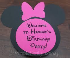 minnie mouse birthday minnie mouse birthday party on a budget by simplistically sassy