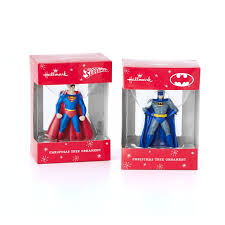 amazon com hallmark dc comics superman and batman christmas