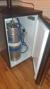 Pony Keg Kegerator Ikea Table As High Top Table With Integrated Bar Tap Inspired By