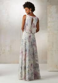 chiffon a line bridesmaids dress style 21502 morilee