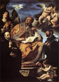 file guercino st gregory the great with sts ignatius and francis