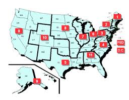 federal circuit court map confirmation and in senate judiciary committee
