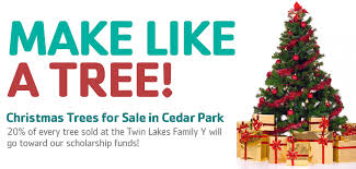 trees for sale at lakes y in cedar park ymca of