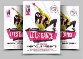 dafont freshman dance flyers by afzaal graphics thehungryjpeg com